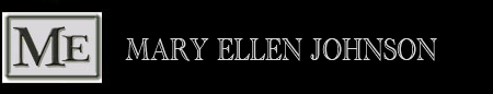 Mary Ellen Johnson banner